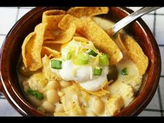 White Chicken Chili...watch the video!