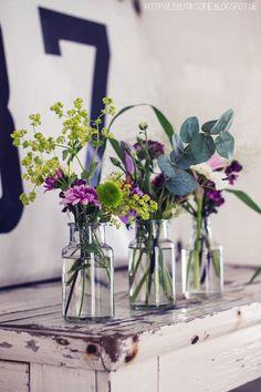 Ideas para fazer em casa e receber com estilo. Vaso de plantas.