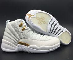 476e53303a96e8 New Air Jordan 12 OVO  White  873864-102 - Mysecretshoes Jordan 12 Ovo