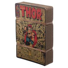 Marvel Comics The Avengers Thor Hammer Loki Battle Fight Bi-Fold Billfold Wallet