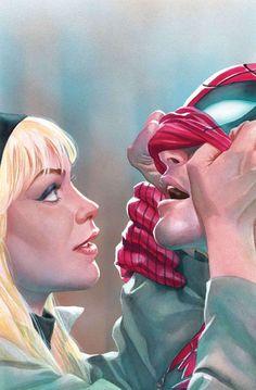 #Spiderman #Fan #Art. (Amazing Spider-Man Vol.4 #23 Cover) By: Alex Ross. (THE * 5 * STÅR * ÅWARD * OF: * AW YEAH, IT'S MAJOR ÅWESOMENESS!!!™)[THANK Ü 4 PINNING!!!<·><]<©>ÅÅÅ+(OB4E)