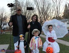 Famílias se fantasiam de personagens divertidos para o Halloween - Curiosidades