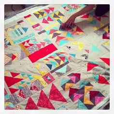 Can't believe I get to see this quilt in person!! With @Michelle Peterson. | Flickr - Photo Sharing!