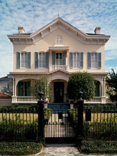 This is just one of the stunning home in Louisiana that's brimming with charm and endless curb appeal.