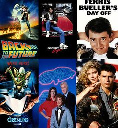 80s Party Decoration - 10 x A4 80s Film and TV Posters - http://hooligansentertainment.com/2014/01/26/80s-party-decoration-10-x-a4-80s-film-and-tv-posters/