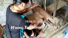 How to make traditional Clothes of Black H'mong in Sapa & Mu Cang Chai, ...