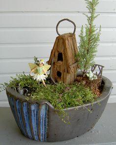 Miniature Garden and Fairy Garden ideas #mini #garden #fairy #gardening