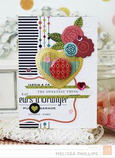 Card Corner | J'Adore collection basic grey