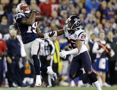 HOU v NE 12-10-12 ~ Donte' Stallworth catching a pass and running for a 63-yard TD!