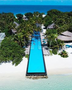 Located on the Shaviyani Atoll in North Maldives, each luxury villa at Fairmont Maldives, Sirru Fen Fushi features a private pool. Honeymoon Destinations, Vacation Places, Holiday Destinations, Dream Vacations, Vacation Spots, Places To Travel, Places To Go, Maldives Honeymoon, Maldives Travel