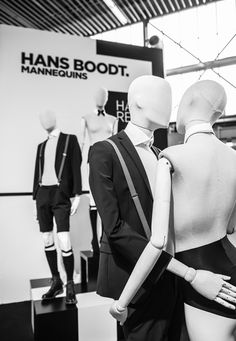 "Hans Boodt Mannequins at Modefabriek, Amsterdam, Holland, ""Privacy Please"", pinned by Ton van der Veer"