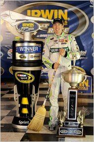 Kyle's Bristol Sweep August 2010...no other Nascar driver has EVER done this except for Kyle!