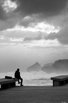 Desde Bakio (costa de Bizkaia) ayer a la tarde, con vistas a San Juan de Gaztelugatxe, by Donibane #bakio #basque #basquecountry #waves #donibane