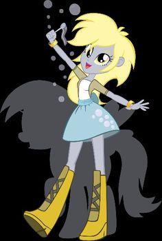 Equestria girls derpy