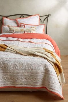 Anthropologie Kuji Coverlet #anthrofave
