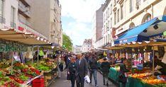 Mercados de rua de Paris #viajar #paris #frança
