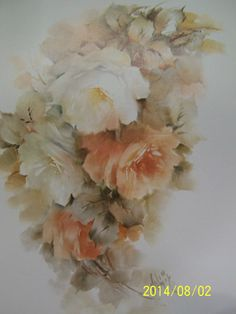 Helen Humes China Painter | China Painting Study 59 Rose Folder Helen Humes 15 Pages | eBay