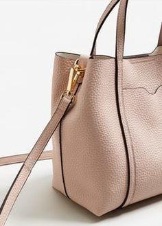 Pebbled cross-body bag - Women | MANGO USA