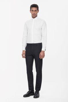 COS | Textured panel shirt
