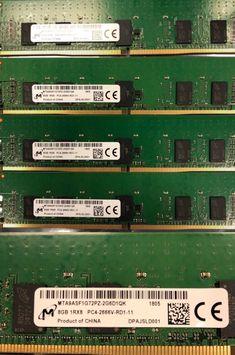 Gigaram 32GB DDR3-1333 ECC DIMM for Apple Mac Pro 8-Core 2.4Ghz Intel Xeon Westmere 8x4GB Apple# 8 x MC728G//A