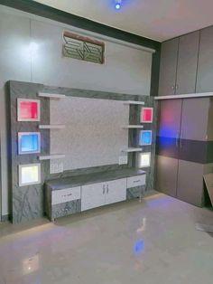 Pooja Room Door Design, Bedroom Door Design, Bedroom Cupboard Designs, Bedroom Wall Designs, Wardrobe Design Bedroom, Tv Unit Furniture Design, Tv Unit Interior Design, Interior Ceiling Design, Bedroom Furniture Design