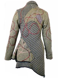 Designer Clothes, Shoes & Bags for Women Coats For Women, Clothes For Women, Batik Fashion, Cool Outfits, Fashion Outfits, Altered Couture, Knitted Coat, Cycling Outfit, Piece Of Clothing