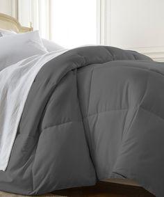 300TC Striped Alternative Down Comforter 7pc Set