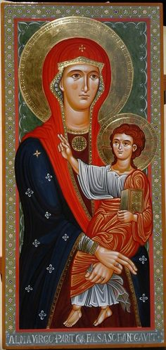 Icon of the Theotokos and the Christ Child