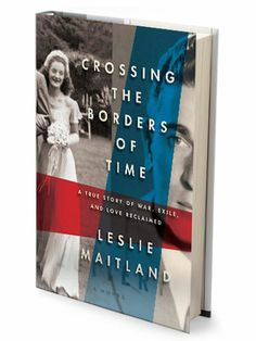"""Crossing The Borders of Time"" By Leslie Maitland #Beach Books"