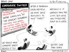 corporate twitter