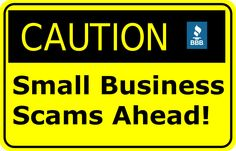 During National Small Business Week, learn how to protect your company from 10 common scams that target businesses: http://bbb.org/h/4d