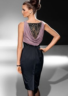 Lace back dress in the VENUS Line of Dresses for Women $54