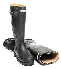 Balmoral Sovereign Hunter Boots in Black - Fully lined in soft leather. This robust, luxurious field boot is made in Men's & Women's sizes UK EU These boots have a commando sole and have a full length waterproof gusset and zip. Hunter Wellington Boots, Wellies Boots, Hunter Boots, Soft Leather, Rubber Rain Boots, Riding Boots, Textiles, Fashion, Self