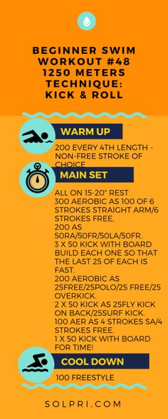 Sets designed by Olympic Triathlete Barb Lindquist  Follow the link for 2500 and 5000 meter options Swimming Workouts For Beginners, Workouts For Swimmers, Swim Sets, Aerobics, Olympics, Kicks, Exercise, Fitness, Swimming