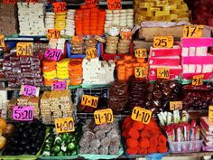 Avoid the overly sweet, crystalline fruits and opt for anything with tamarind. | How to eat your way through La Merced, Mexico City's largest and most delicious market #food #travel