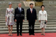 Belgian Royal visit to China - 23 Jun 2015 King Philippe, Queen Mathilde, Xi Jinping, Lady Peng Liyuan 23 Jun 2015