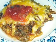 ENCHILADA BAKE - Linda's Low Carb Menus & Recipes | I think this fulfills requirements through the Primal blueprint. While not Paleo, this would be a pretty good treat every couple of months if we get bored with the same old, same old.