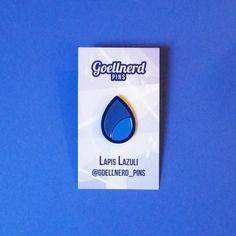 Steven Universe Lapis Lazuli Gem Enamel Pin