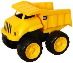 "Toystate CAT Tough Tracks 8"" Dump Truck, http://www.amazon.com/dp/B007AH5QFU/ref=cm_sw_r_pi_awdm_x_aN2dybVTWSSEE"