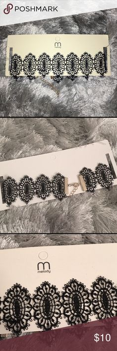 • Black Crochet Adjustable Choker 🌹 NWT! 🌹 Came from an online Boutique! 🌹 Black & gold in color!  🔪 Prices are FIRM here on Posh! All offers will kindly be declined! 💋  ⭐️ Ask all questions below! ⭐️ Bundle discount is 5% off 2 + pieces on here! ⭐️ NOT Nasty Gal! Put for exposure/views!  XO - AW - ☠️ Nasty Gal Jewelry Necklaces