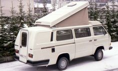 Bischofberger extension on a Westfalia camper.