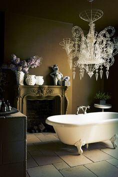 """Wooster Olive is one of the most sophisticated """"new neutrals"""". It's completely transformed my bathroom!"""