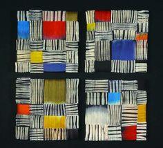 Arte Textil de la artista Inge Dusi