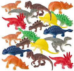Prextex Box of Mini Dinosaur Toys Count) Best for Dinosaur Party Favors Cake Toppers Easter Eggs Filler Dinosaur Food, Dinosaur Mug, Dinosaur Party Favors, Dinosaur Gifts, Dinosaur Birthday Party, 5th Birthday, Birthday Ideas, Dinosaur Cupcake Toppers, Birthday Treat Bags
