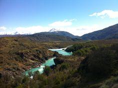 Río Baker. Foto de Felipe Urrutia Rivas. Chile, Rivers, Patagonia, Natural, Mountains, Travel, Scenery, Photos, Viajes