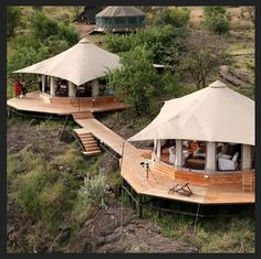 south africa +safari. Great picture but I can totally see us buying a piece of land and spreading rooms out among them-one for kitchen/dining, one for bedrooms, guest room, etc, etc.