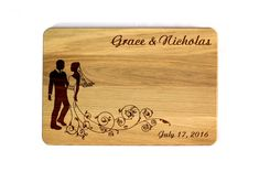 Cutting board Wedding gift Wedding Personalized Cutting Board Custom cutting board Wedding Gift Kitchen decor Gift for couple