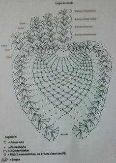 Crochê Gráfico: Tapete de crochê coruja