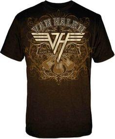 d24cba4e1 Licensed Van Halen Rock N Roll T-Shirt featuring logo and design 100% cotton