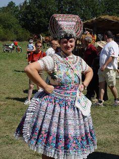 Slovakian kroj from the Hont region